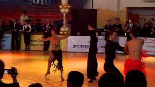 Самба! Юлия Харламова и Денис Кривоногов