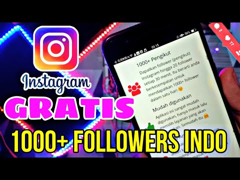 Cara Menambah Followers Instagram Indonesia Free