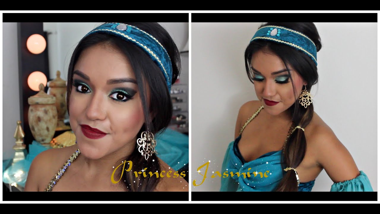 Hair Style Videos Youtube: Princess Jasmine Makeup/Hair Tutorial