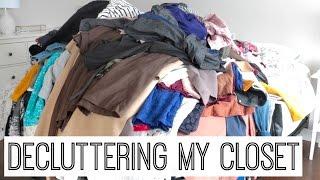 Decluttering My Wardrobe    Closet Purge