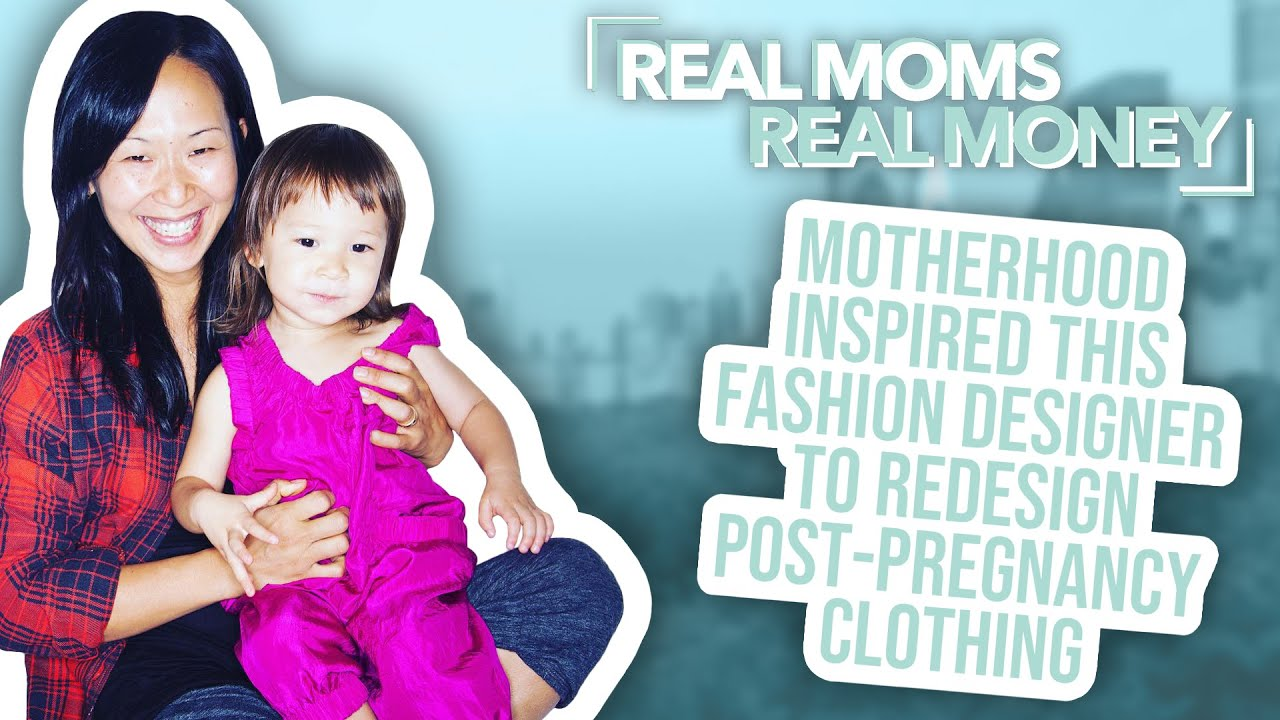 Motherhood Inspired This Designer to Redesign Maternity Wear | Real Moms Real Money | Parents