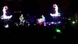 Coldplay - Up in flames - Live in Porto