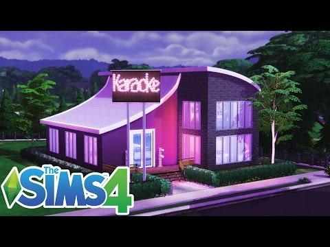 #23 Speed Build - Bar Karaoke w Newcrest (The Sims 4)