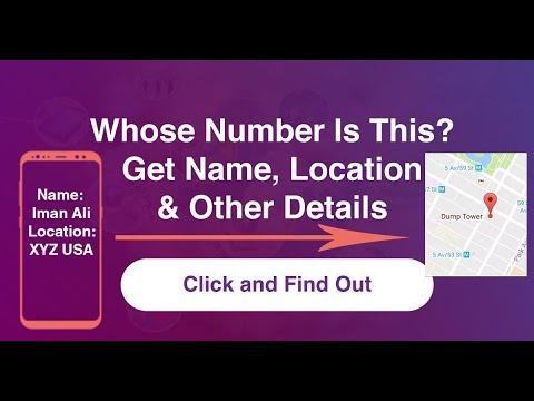 Get Mobile Number Details Name, Location Etc - Whose Number Lookup Worldwide - Phone Number Lookup
