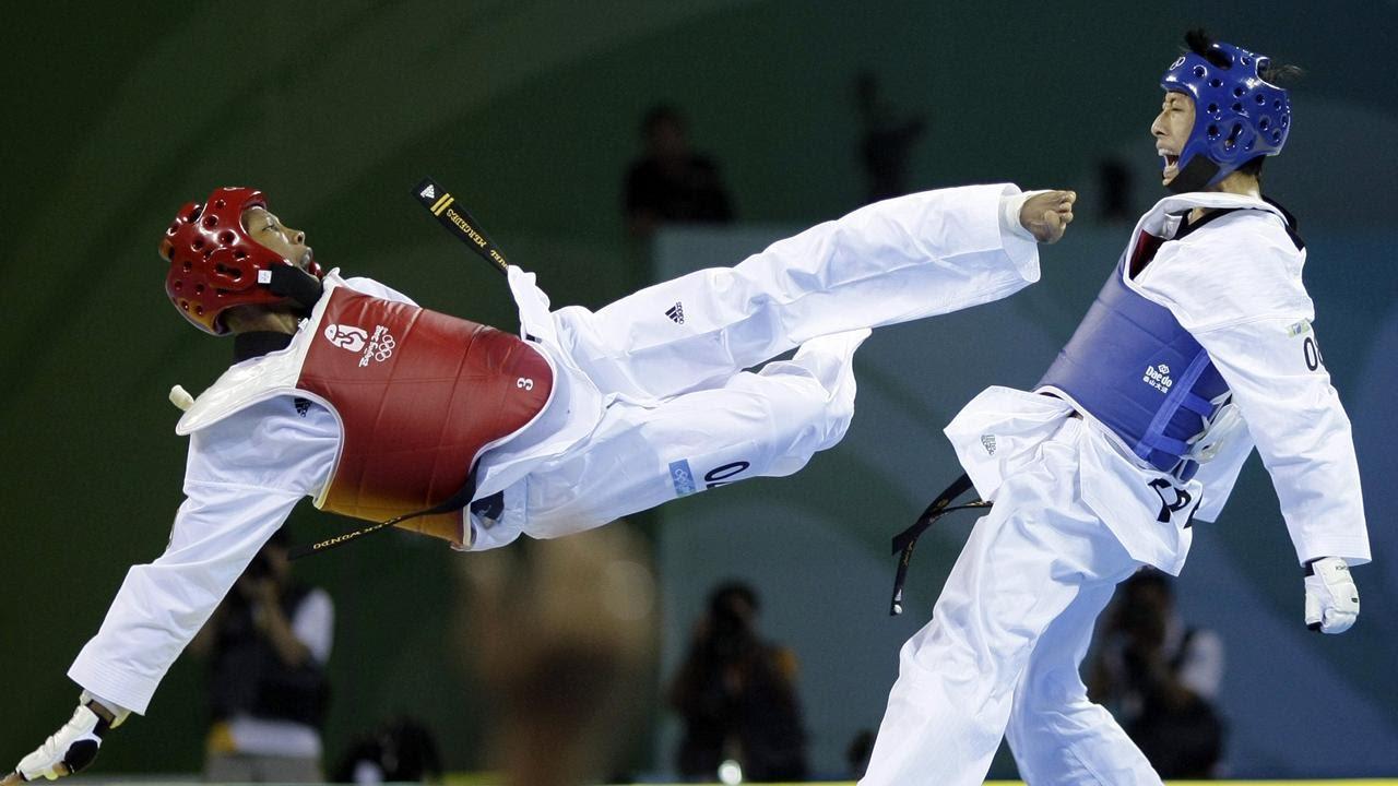 เปรี้ยงเดียวสลบ โจมตีแรงๆของเทควันโด Taekwondo  K.O.