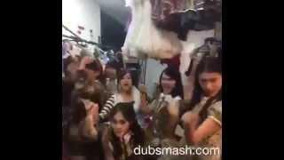 Video [20151017] Team K3 JKT48 Dubsmash Lagu Ayu Tingting - Sambalado download MP3, 3GP, MP4, WEBM, AVI, FLV Oktober 2017