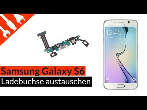 S6 Ladebuchse | Mikro | Sensortasten Reparatur - Samsung Galaxy S6 Dockconnector Tutorial kaputt de