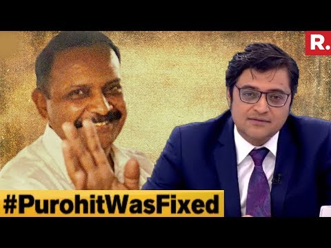Congress Party Hid Documents On Lt Col Purohit? | The Debate With Arnab Goswami