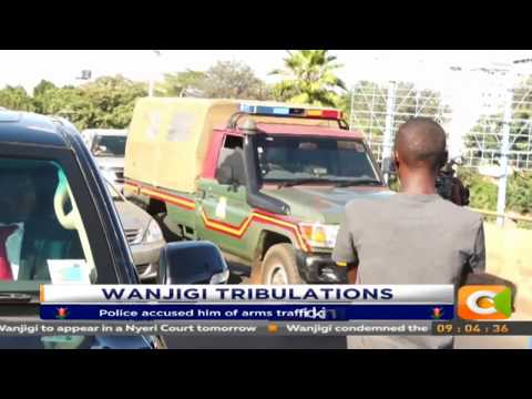 Drama as police serve Jimi Wanjigi with court order