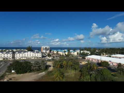 CAYMAN ISLANDS flight parrot bebop drone 1st flight!!