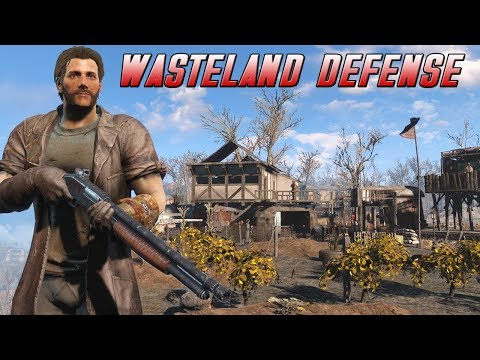 Fallout 4 - Wasteland Defense - Rebirth! - Part 1