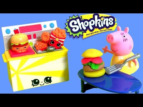 Brinquedos SHOPKINS FAST FOOD Collection Season 3 - Porquinha Peppa ...