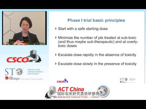 Phase I Clinical Trials: Objectives, Design, and Endpoints