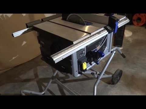 SAVE MONEY: KOBALT Portable Table Saw Review