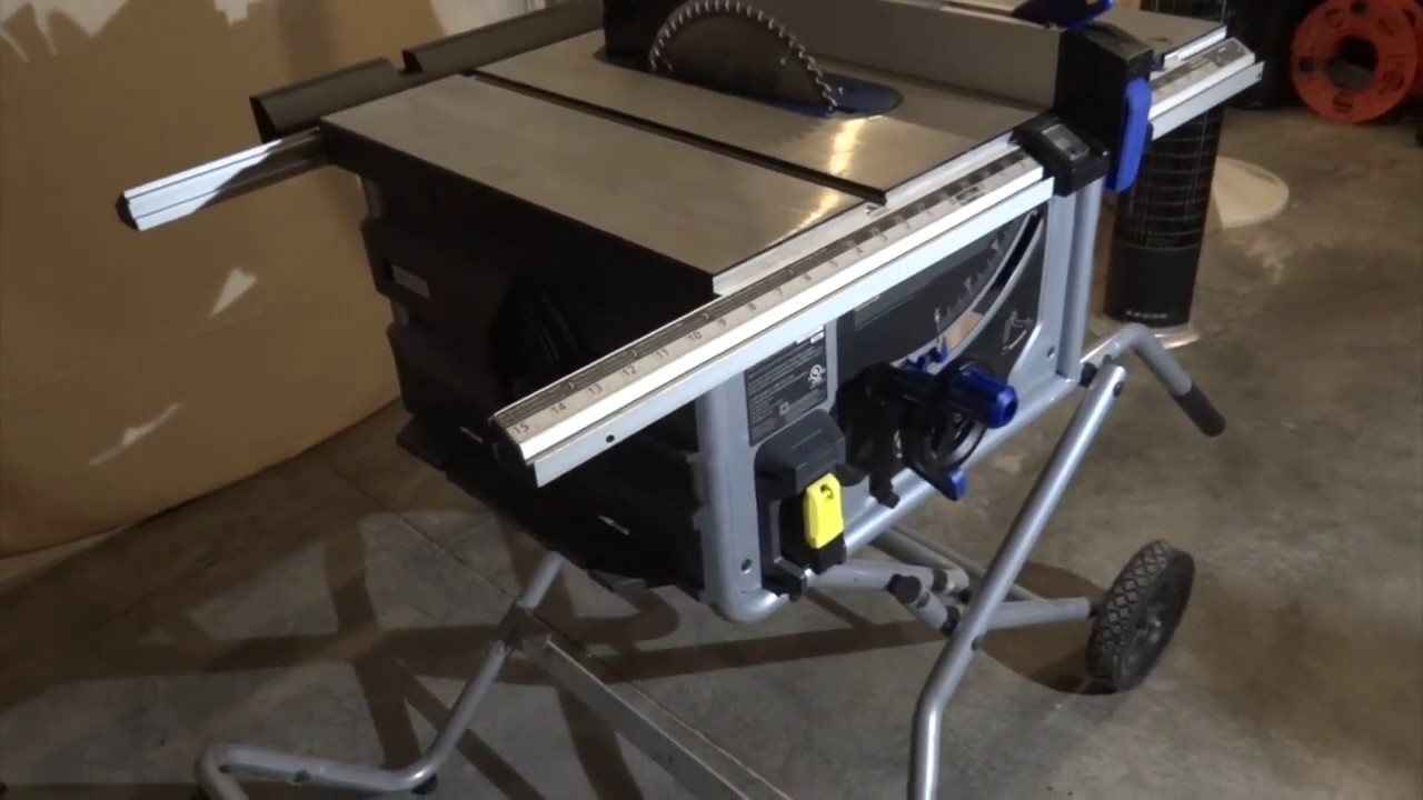 Save money kobalt portable table saw review youtube save money kobalt portable table saw review keyboard keysfo Images