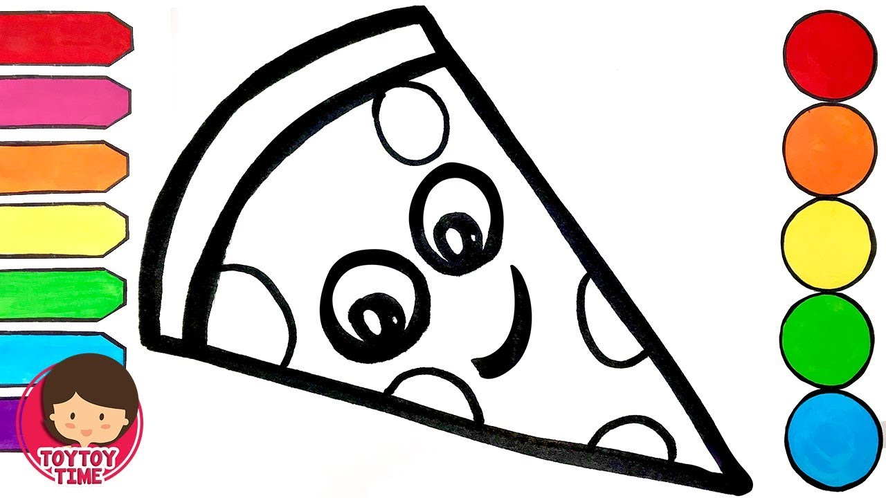 Pizza coloring pages | kids printable coloring pages | #21 Free ... | 720x1280