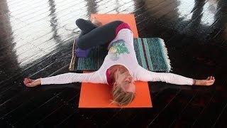 Mit Yin Yoga Muskeln entspannen, Faszien dehnen, loslassen - YOGAMOUR #60