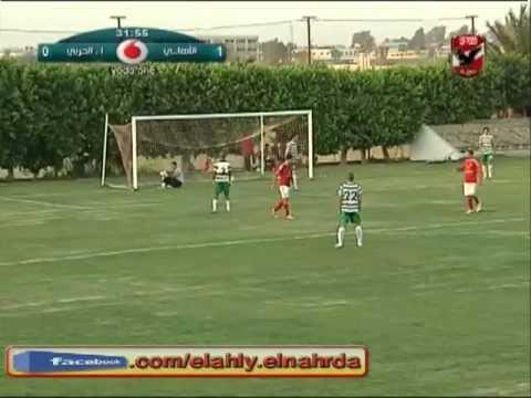 اهداف مباراة الاهلى & الانتاج الحربى