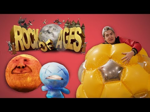 ROLLING BOULDER DERBY  •  Rock Of Ages 2 Gameplay