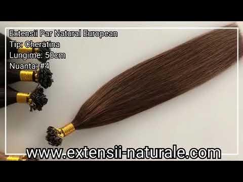 Extensii De Par Natural Cheratina Lux Saten Ciocolatiu 4 Youtube