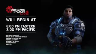 Gears of War 4: LIVE