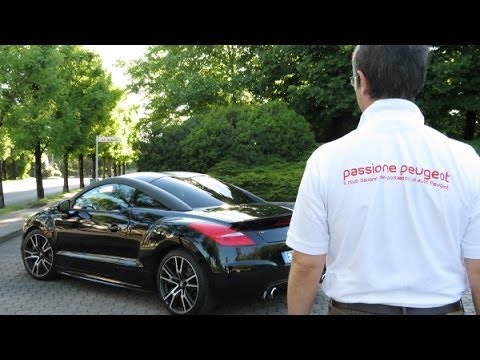 test drive peugeot rcz r passione peugeot youtube. Black Bedroom Furniture Sets. Home Design Ideas