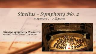 sibelius symphony no 2 in d major chicago symphony orchestra