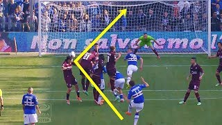 World Class Saves From Deflected Shot • HD