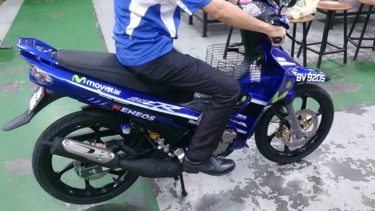 2017 Yamaha 125zr Motogp Replica Special Limited Edition Youtube
