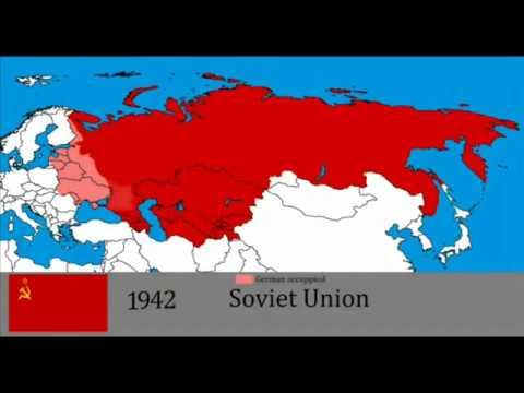 КАК МЕНЯЛАСЬ ТЕРРИТОРИАЛЬНАЯ ГРАНИЦА РОССИИ ЗА 1000 ЛЕТ   the history of Russia