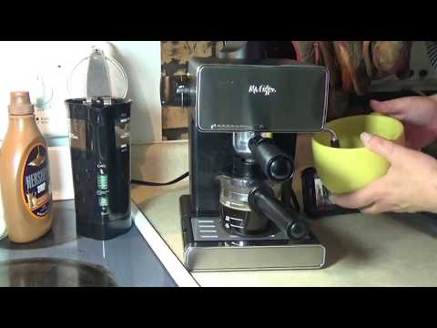 How to Make Espresso & Froth Like a Beast with a Mr. Coffee Espresso Machine