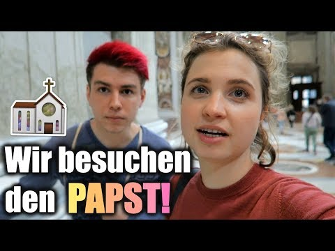Wir besuchen den PAPST! VLOG ft. Sev  │ LenaHIllOnTour