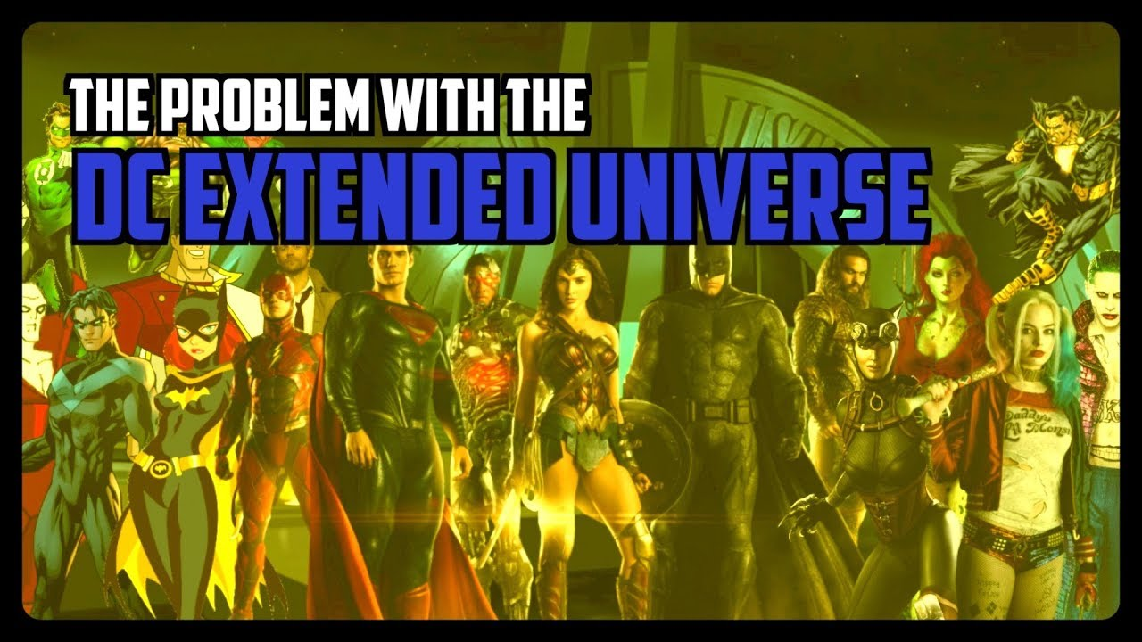 The Problem With The DC Extended Universe
