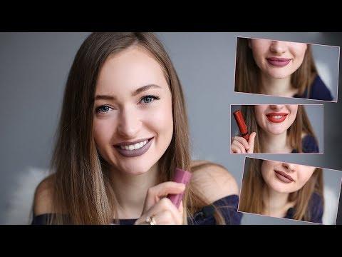 10 МАТОВЫХ ПОМАД Bourjois Velvet The Lipstick