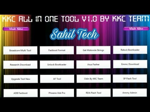 All Android Mobile Latest Flashing Tool Pack In One Setup | All Flash tool  without box | hindi