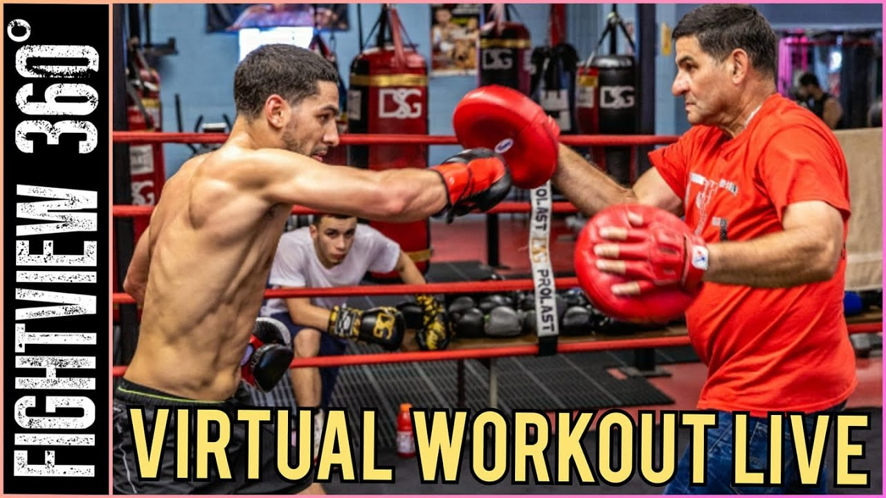 📡🔴 Spence vs Garcia: Danny Garcia LIVE Virtual Media Workout - Will Danny Get CREDIT if He Wins?