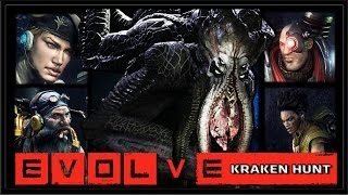 Evolve Alpha - PC Gameplay 60 FPS - Kraken Hunt - Part 1