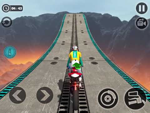 IMPOSSIBLE BIKE RIDE RACING 3D - Gameplay Walkthrough Part 9 iOS / Android  - All Bikes Unlocked