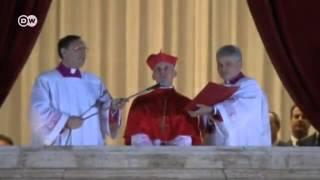 Verkündung: der neue Papst - Jorge Mario Bergoglio   Journal