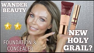 NEW WANDER BEAUTY NUDE ILLUMINATING FOUNDATION..FUL REVIEW & WEAR TEST