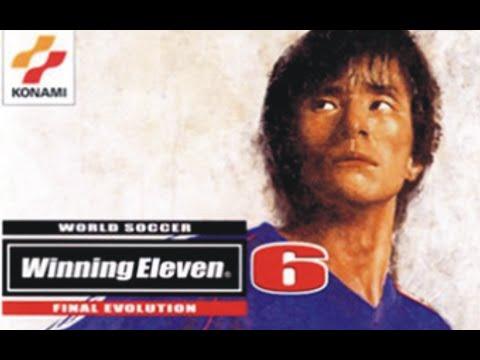 Winning Eleven 6 Final Evolution Playstation 2 Ps2