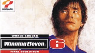 Winning eleven 6 - Final evolution - Playstation 2 (ps2)