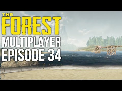 The Forest Multiplayer w/ Starrlett #34 - Successful Cave Ex