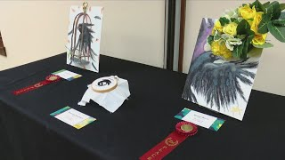 A Library Showcases Local Children's Art