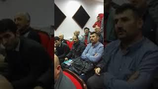 Sinop Nükleeri Halkın Bilgilendirilmesi toplantısı
