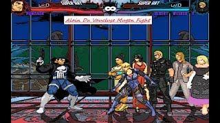 Mugen : Punisher (Marvel) Vs Albert Wesker V (Resident Evil) (Request)