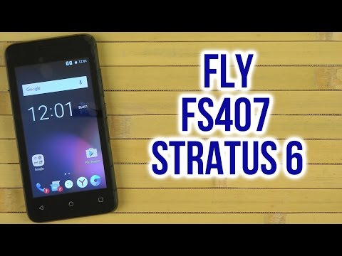 Распаковка Fly FS407 Stratus 6 Black