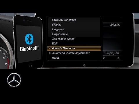 How to: Connect your Smartphone via Bluetooth | Mercedes me