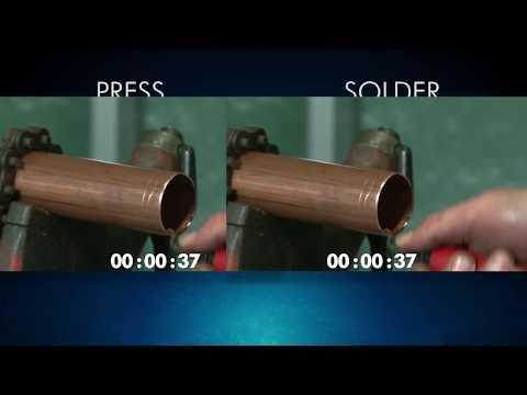 NIBCO® Press Valves vs Soldering Installation