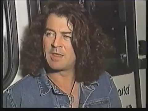 Ian Gillan touring for the Naked Thunder album in 1990.